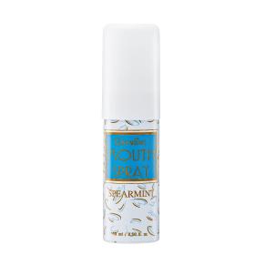 Mouth spray (spear mint) เมาท์ สเปรย์ กลิ่น สเปียร์มิ้นท์ สเปรย์ระงับกลิ่นปาก ลดการอักเสบของเหงือก ระงับเชื้อแบคทีเรียให้ลมหายใจหอมสดชื่น