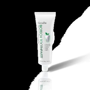 Bio Tech Toothpaste ยาสีฟันไบโอ เทค ยาสีฟันฟลูออไรด์ผสมสารสกัดจากสมุนไพร ดูแลสุขภาพของเหงือกและฟัน ช่วยให้ฟันแข็งแรง ป้องกันฟันผุ ลมหายใจ สะอาด สดชื่น ด้วยคุณค่าของสารสกัดจาก Chamomile, Sage, Myrrh, Peppermint, Thyme
