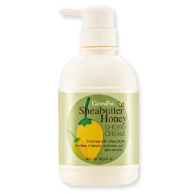 Sheabutter honey shower cream เชียบัตเตอร์ ฮันนี่ ชาวเวอร์ ครีม ครีมอาบน้ำนุ่มละมุน ทำความสะอาดผิวอย่างหมดจด โดยไม่ทำลายสมดุลน้ำหล่อเลี้ยงผิว พร้อมมอบคุณค่าการบำรุงของ Sheabutter และน้ำผึ้งบริสุทธิ์ เพื่อผิวนุ่มชุ่มชื่น ไม่แห้งตึง