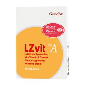 L Z Vit Plus A Giffarine แอล ซี วิต พลัส เอ กิฟฟารีน วิตามิน บำรุงสายตา ลูทีน และซีแซนทีน ปกป้องดวงตา กรองแสงสีฟ้า