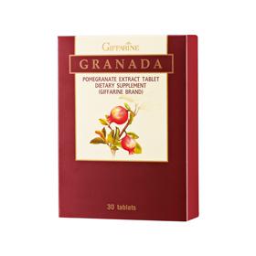Granada Giffarine บำรุงเลือด บำรุงตับและบำรุงหัวใจ ลดความดันโลหิต ยับยั้งเซลล์มะเร็ง บำรุงผิวพรรณ