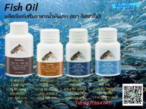 น้ำมันปลาแหล่งสำคัญของกรดใขมัน…โอเมก้า 3